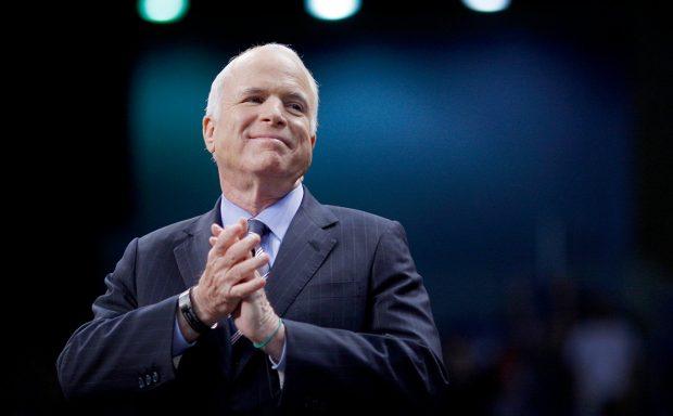 Улицу в Печерском районе переименовали в честь сенатора США Джона Маккейна