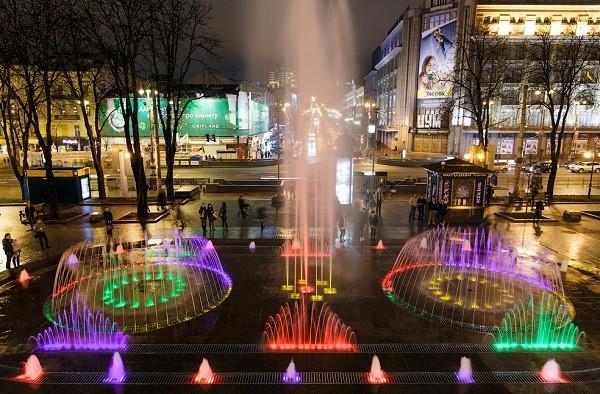 С 27 апреля киевские фонтаны возобновят работу после зимы