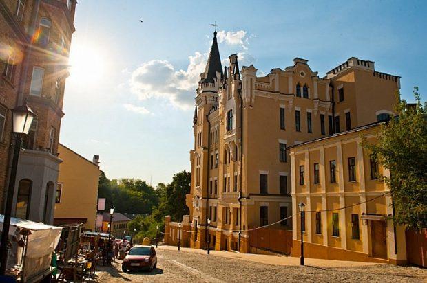 Замки Киева