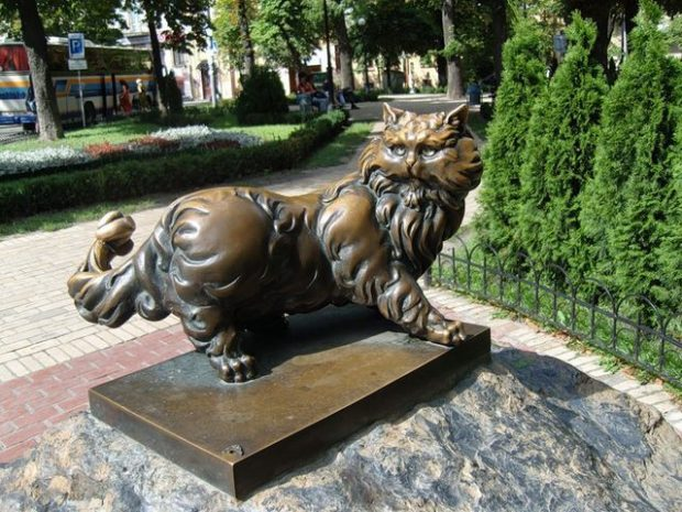 Кот Пантелеймон, Киев