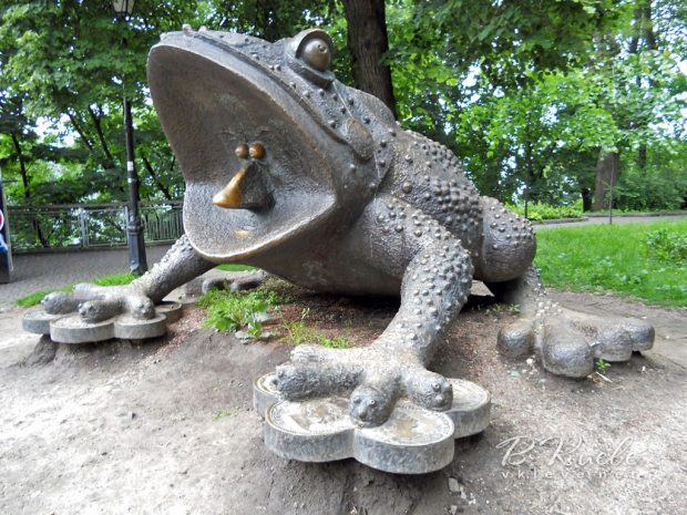 Жаба материального достатка, Киев