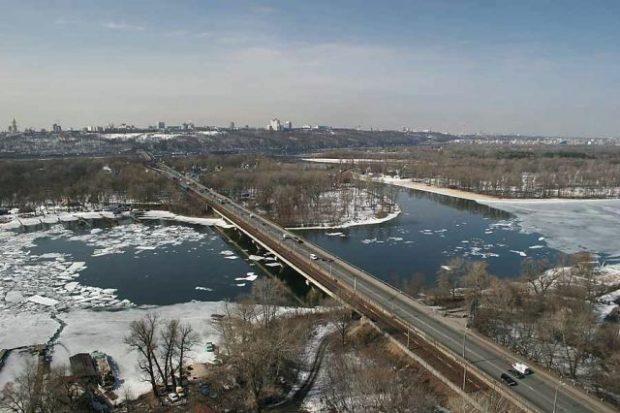 Русановский мост, Киев