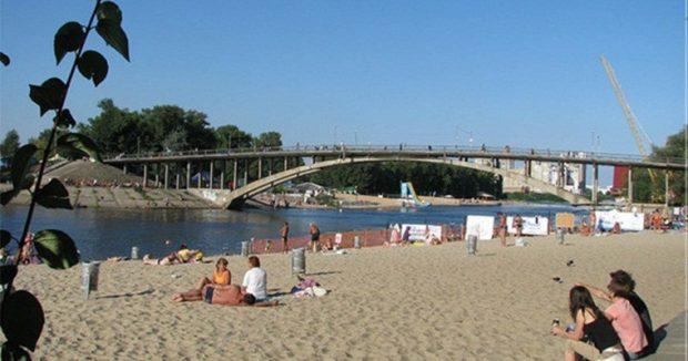Пляж «Венеция», Гидропарк, Киев