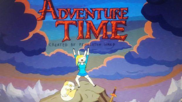"мультфильм Adventure time (""Время приключений"")"