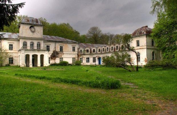 Дворец Муравьевых-Апостолов, Хомутец