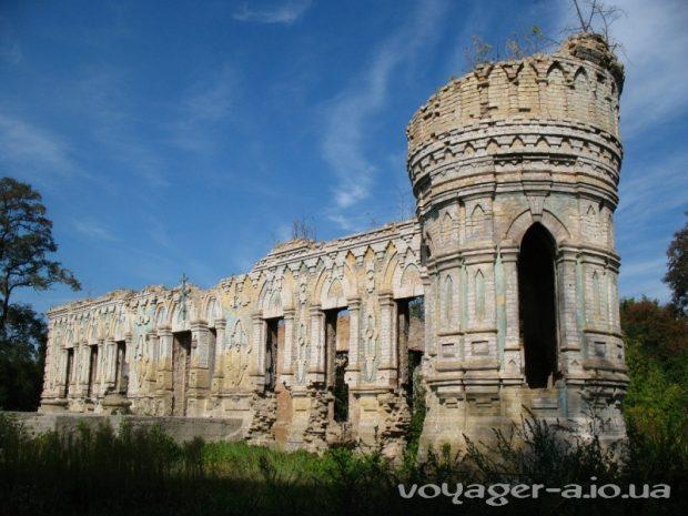 Дворец Остен-Сакен, Киевская область