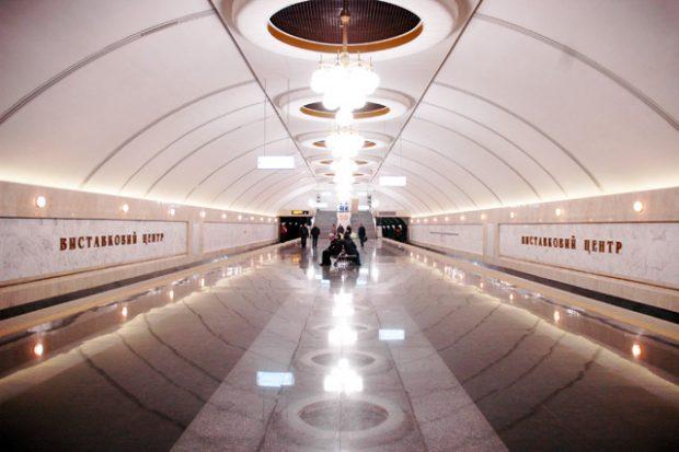 Выход из станции метро «Выставочный центр» реконструируют со строительством подземного перехода