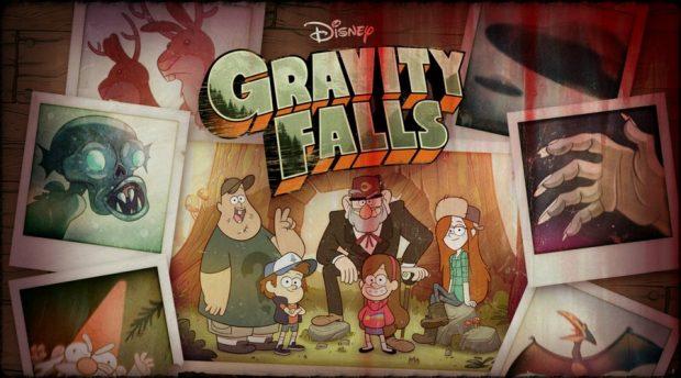 """мультфильм Gravity Falls (""""Грэвити Фоллс"""")"""