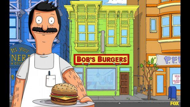 """мультфильм Bob`s Burgers (""""Закусочная Боба"""")"""