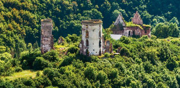 Червоногородский замок, Тернопольская область