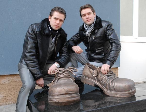 Андрей и Петр Озюменко