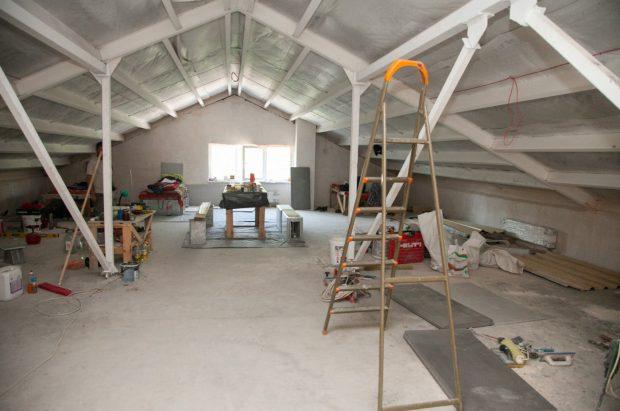 Кличко показал, как строят новый детский сад в Дарницком районе