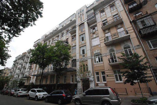 Дом, где жила Ахматова