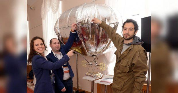 Гибрид беспилотника и воздушного шара Киев