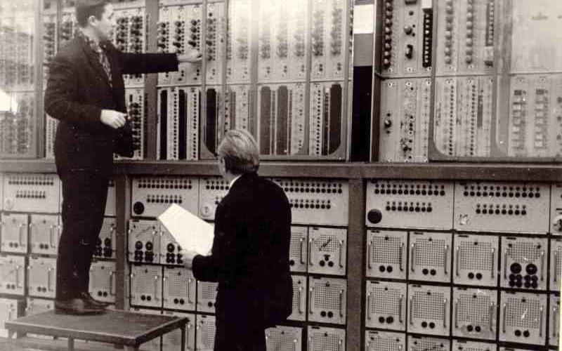 Первый компьютер Киев