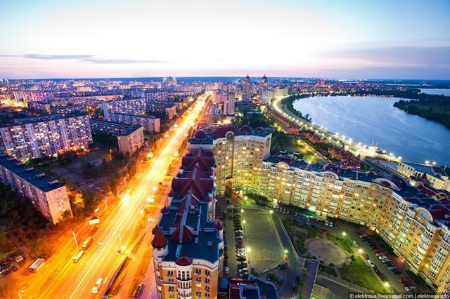 вид с крыши Киевская Венеция Киев