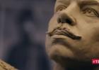 Кличко показал, как создают памятник Сикорскому