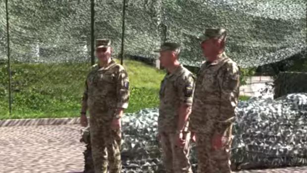Хомчак представив нового командувача ООС
