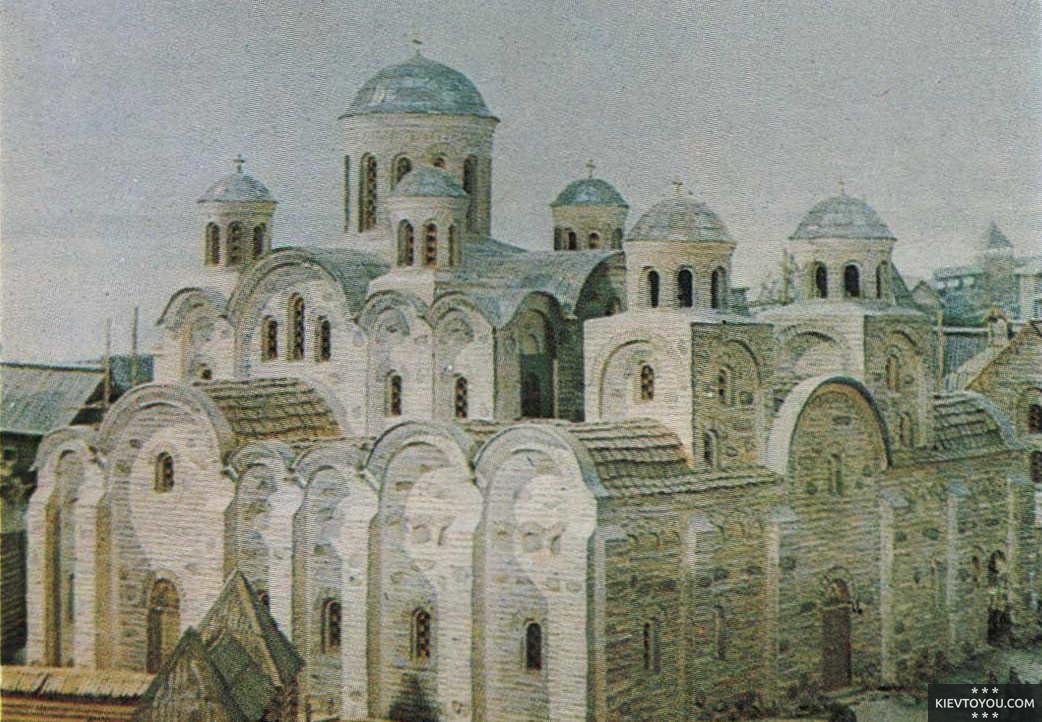 Десятинная церковь Киев