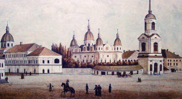 Братский монастырь и Могилянская академия