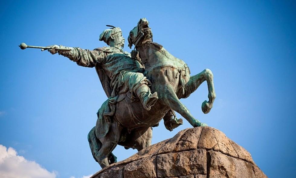Памятник Хмельницкому Киев
