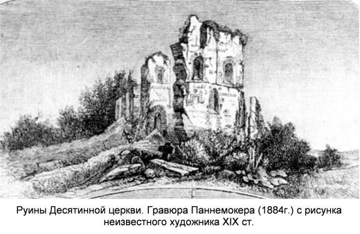Руина Десятинной церкви