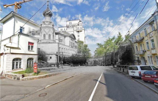 Церковь Александра Невского, коллаж