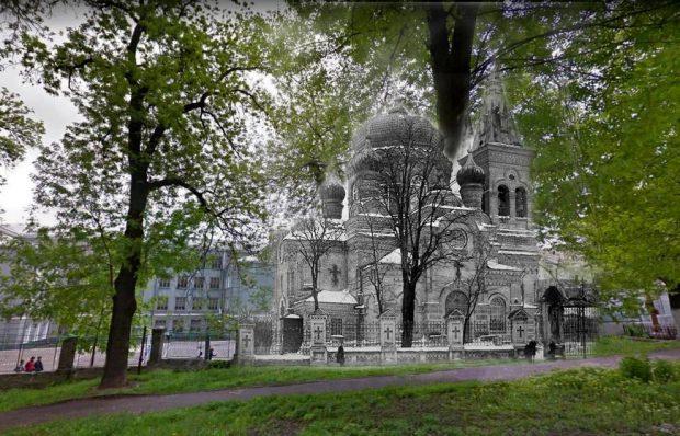 Церковь Марии Магдалины, коллаж