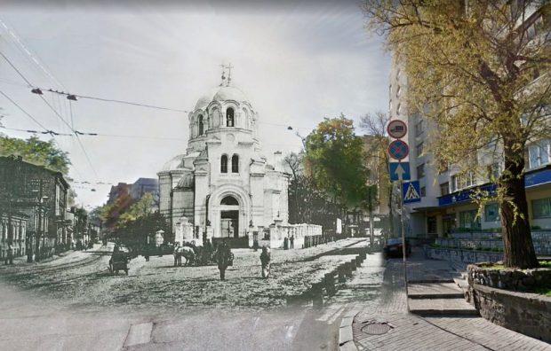 Церковь Сретения Господня Коллаж