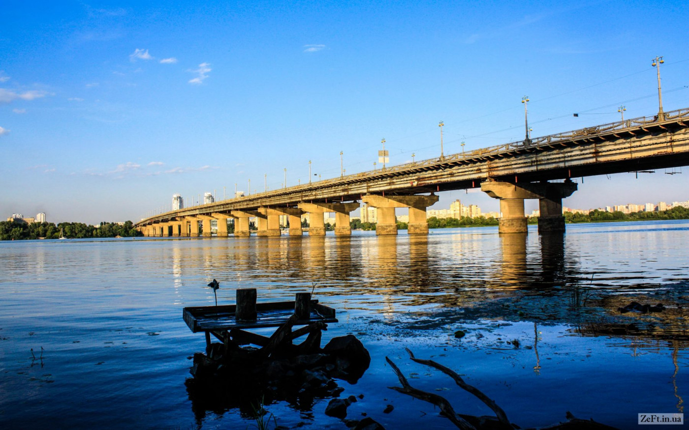 Мост Патона Киев