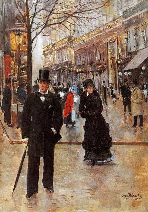 Старый Париж. Автор Жан Беро