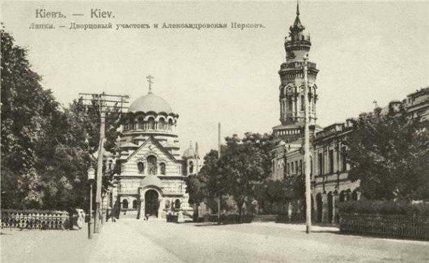 Церковь Александра Невского в Мариинском парке