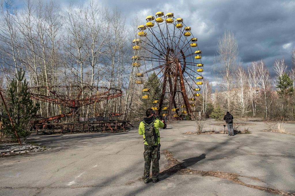 Туристы Чернобыль Киев