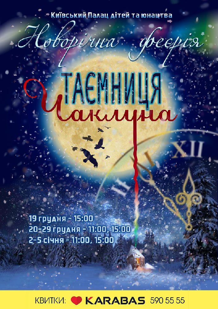 Новорічна феєрія «Таємниця чаклуна» Киев