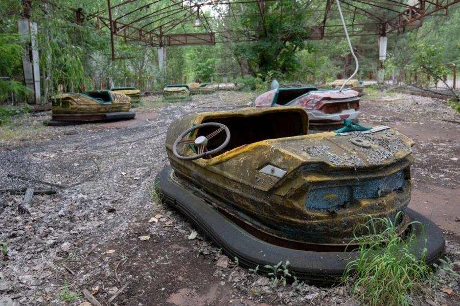 Парк в Чернобыле Киев