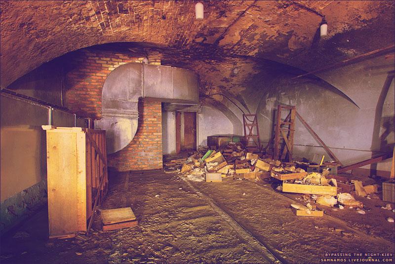 Подземелья завода Арсенал, Киев