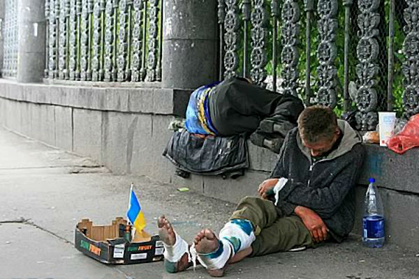 Бездомные Киева