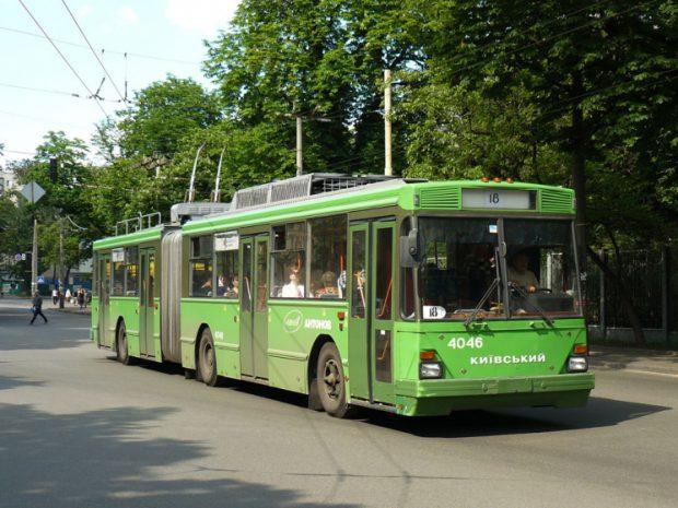 Киевский троллейбус сегодня