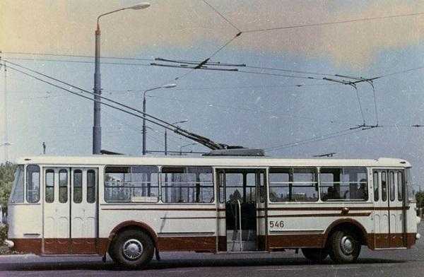 Раритетный троллейбус