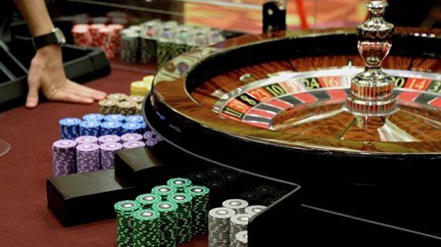 Ночью в Киеве закрывали казино