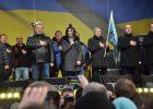 В Порошенко на Майдане кидали яйца