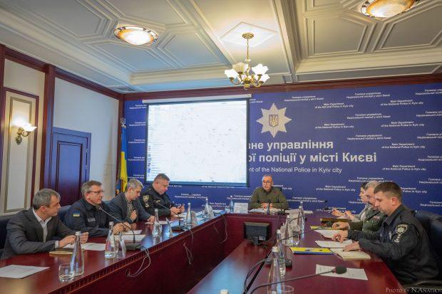 В центре Киева планируется 5 акций с десятками тысяч людей