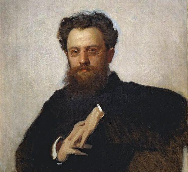 Адриан Прахов. Портрет работы И. Крамского