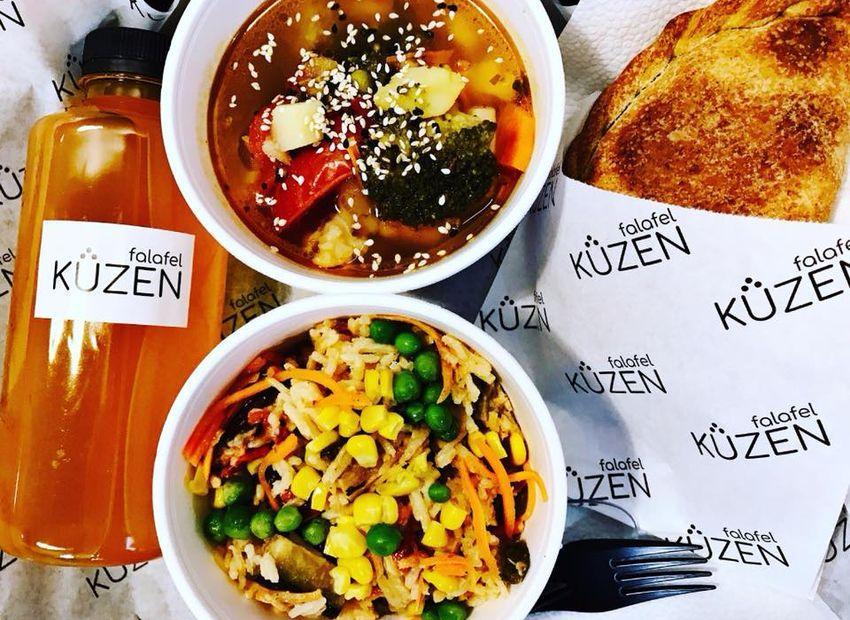 Кафе Kuzen Falafel, Киев