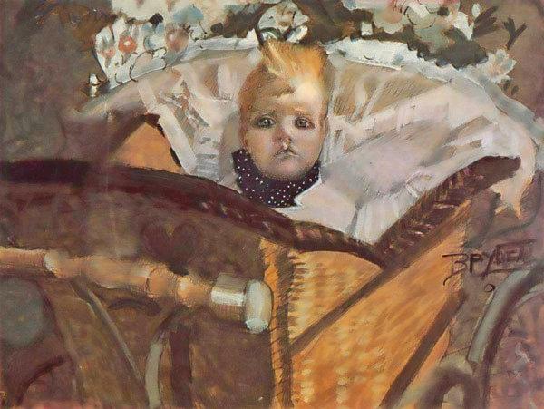 М. Врубель. Портрет сына