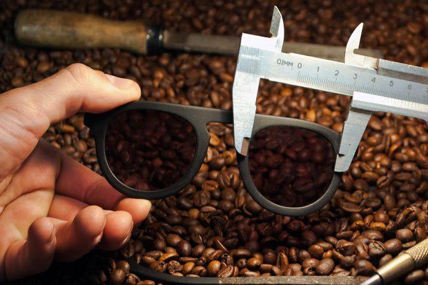 Оправа из кофе, Киев