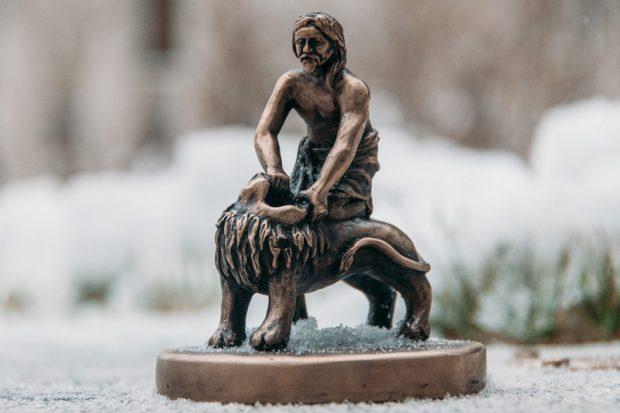 """Мини-скульптура """"Самсон"""""""
