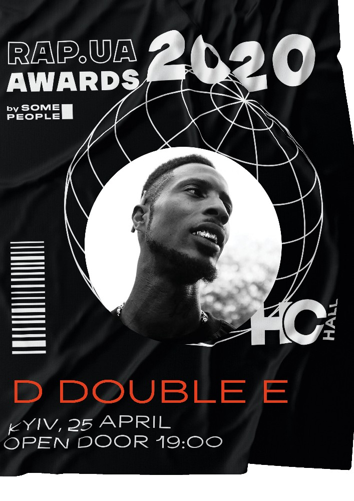 RAP.UA AWARDS 2020 | D Double E (UK) Киев