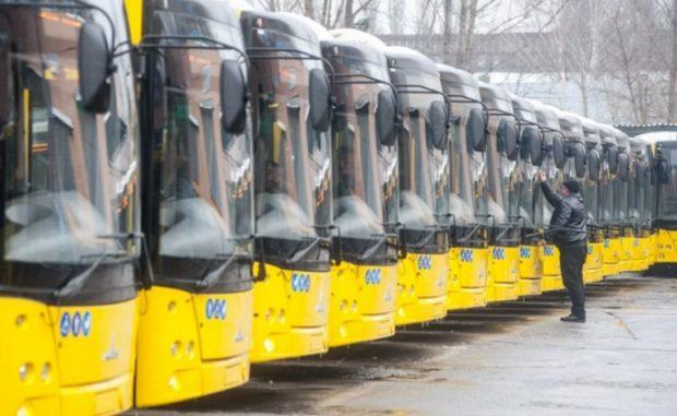 Киев планирует купить 70 автобусов