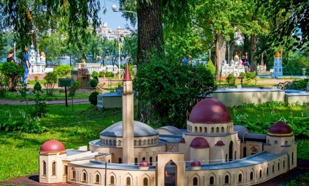"Макет ""Мечеть Мечеть Ар-Рахма"""